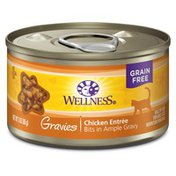 Wellness Natural Grain Free Gravies Chicken Entree Canned Cat Food