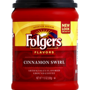 Folgers Coffee, Ground, Cinnamon Swirl