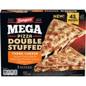 Banquet Mega Pizza Double Stuffed Three Cheese