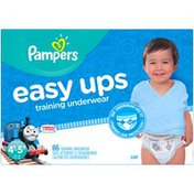 Pampers Easy Ups Thomas & Friends Size 4T–5T Training Underwear