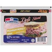 Plumrose Premium Sliced Honey Ham 97% Fat Free Sliced Honey Ham