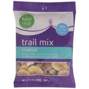 Food Club Tropical Papaya, Raisins, Banana Chips, Peanuts, Almonds, Pineapples, Dates & Coconut Trail Mix