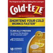 Cold-Eeze Zinc, Lozenges, Honey Lemon