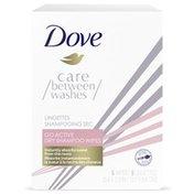 Dove Go Active Dry Shampoo Wipes