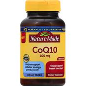 Nature Made CoQ10, 100 mg, Softgels, Mega Size