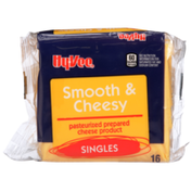Hy-Vee Smooth & Cheesy Pasteurized Prepared Cheese Product Singles