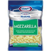 Kraft Mozzarella W/Touch of Philadelphia Shredded Cheese
