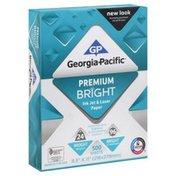 Georgia-Pacific Ink Jet & Laser Paper, Premium Bright, Wrapper