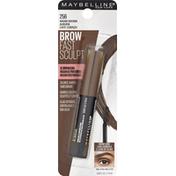 Maybelline Gel Brow Mascara, Warm Brown Auburn 256