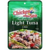 Chicken of the Sea Premium Wild-Caught in Water Light Tuna