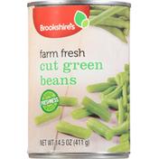 Brookshire's Green Beans, Cut, Farm Fresh