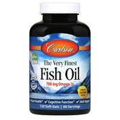 Carlson Labs The Very Finest Fish Oil, Lemon
