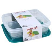 GoodCook Prep Storage Containers, 4 Compartments