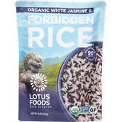 Lotus Foods Rice, Organic, White Jasmine & Forbidden