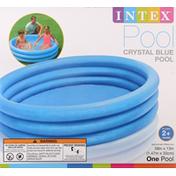 Intex Pool, Crystal Blue
