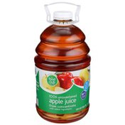 Food Club 100% Unsweetened Apple Juice From Concentrate
