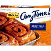 Rhodes Bake-N-Serv Sticky Buns Gooey Caramel Rolls