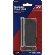 Ace Bakery Door Hinge, Oil Rubbed Bronze, 5/8 Inches Radius, 3-1/2 Inches
