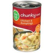 Food Club Chicken & Dumplings Chunky Soup
