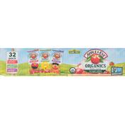 Apple & Eve 100% Juice, Elmo's Punch/Big BIrd's Apple/Ernie's Berry, 32 Pack