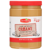 Our Family Creamy Peanut Butter