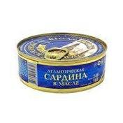 Riga Gold Atlantic Sardines In Oil