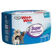 Four Paws Wee Wee Super Absorbent Quilted Pads