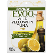 StarKist E.V.O.O.™ Yellowfin Tuna with Lemon Pepper in Extra Virgin Olive Oil - 2.6 oz Pouch