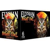 Elysian Night Owl Pumpkin Ale Beer Bottles