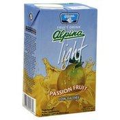 Alpina Fruit Drink, Light, Passion Fruit