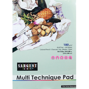 Sargent Art Multi Technique Pad, 60 Sheets