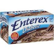 Enterex Nutritional Beverage, Diabetic, Chocolate