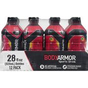 BODYARMOR Sports Drink, Fruit Punch, 12 Pack