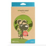 Earth Rated Unscented Dog Waste Bags with Handles