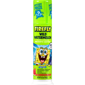 Firefly Toothpaste, Anticavity Fluoride, Wild Watermelon, Sponge Bob Squarepants, 3+