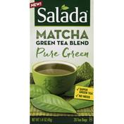 Salada Green Tea Blend, Pure Green, Tea Bags