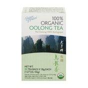 Prince of Peace Organic Oolong Tea Bags - 20 CT