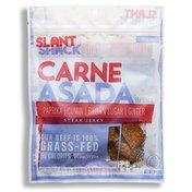 Slant Shack Jerky Beef Carne Asada Grass Fed