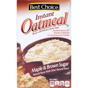 Best Choice Maple & Brown Sugar Flavored Instant Oatmeal