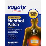 Equate Menthol Patch, Extra Strength