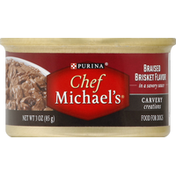 Purina Food For Dogs, Braised Brisket Flavor, In a Savory Sauce
