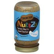 NuttZo Seven Nut & Seed Butter, Crunchy, Original