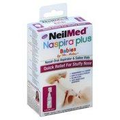 Neil Med Nasal-Oral Aspirator & Saline Vials