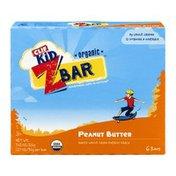 CLIF BAR Kid Peanut Butter Z Bar Organic - 6 CT