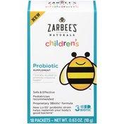 Zarbee's Naturals Children's Probiotic Supplement, 18 ct Probiotic Supplement