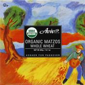 Aviv Matzos, Organic, Whole Wheat