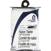 Helping Hand Twine, Nylon, with Cutting Blade