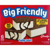 Friendly's Ice Cream Sandwich Fudge Swirl