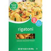 Food Club Rigatoni