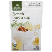 Simply Organic French Onion Dip, Mix